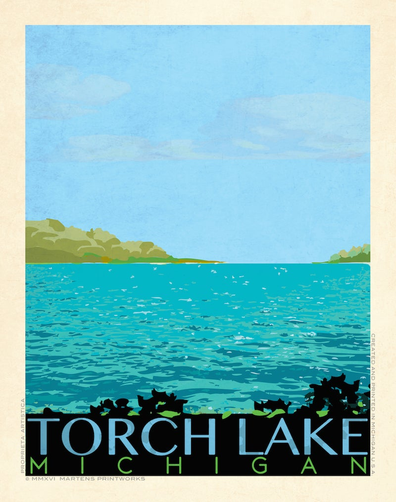Image of Torch Lake Special Edition 11x14 Print No. [056]