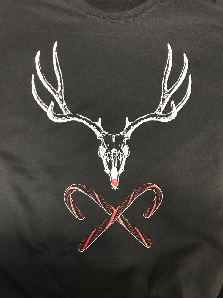 Image of Reindeer Skull Sweatshirt