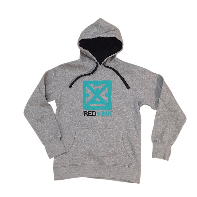 Image of SUDADERA MUJER MODEL RED*INK GRIS