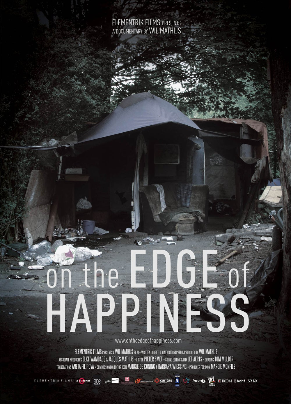 Image of ON THE EDGE OF HAPPINESS_POSTER A2_LTD ED. 100 EX.
