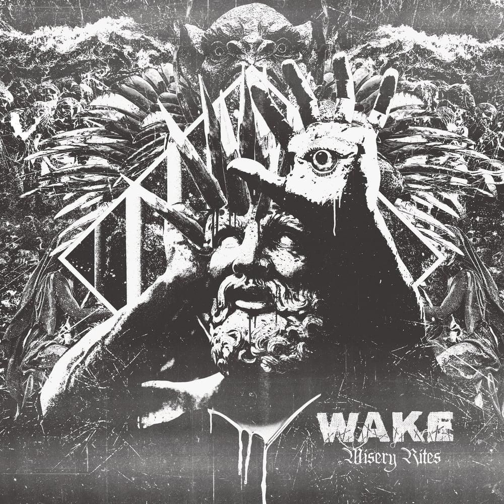 Image of WAKE - Misery Rites CD