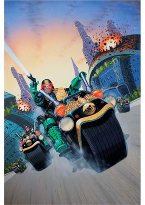 Image of Judge Dredd A4/A3 prints