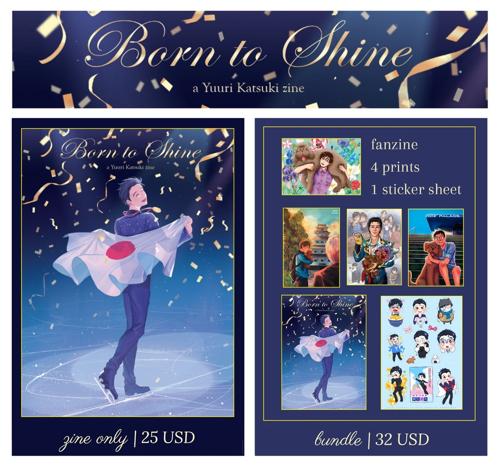 Image of Born to Shine (Zine+Merch Bundle)