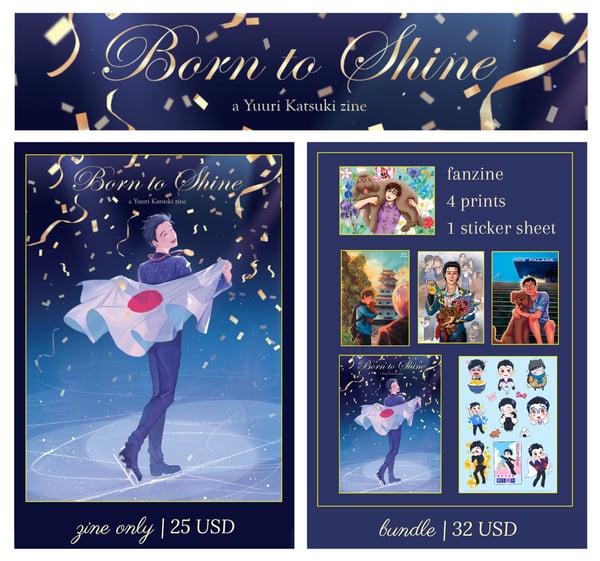 Image of Born to Shine (Zine+Merch Bundle)