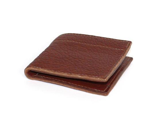 Image of BISON WALLET - BROWN