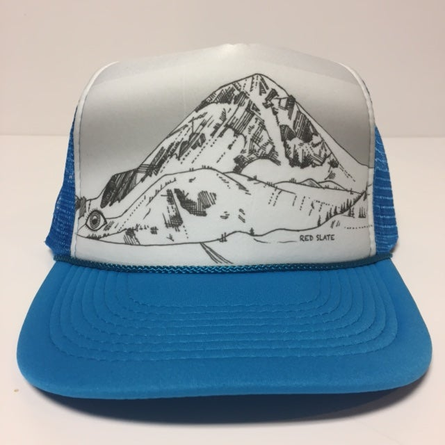 Image of Red Slate Trucker Hat