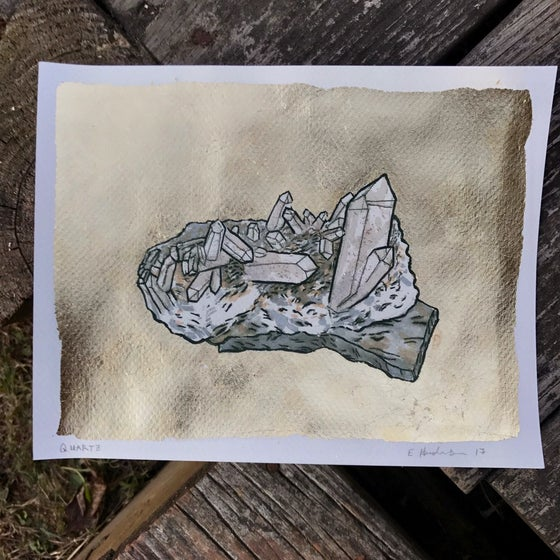 Image of Quartz Print