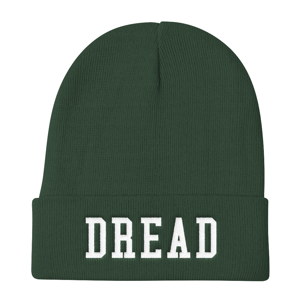 Image of Green Dread Beanie