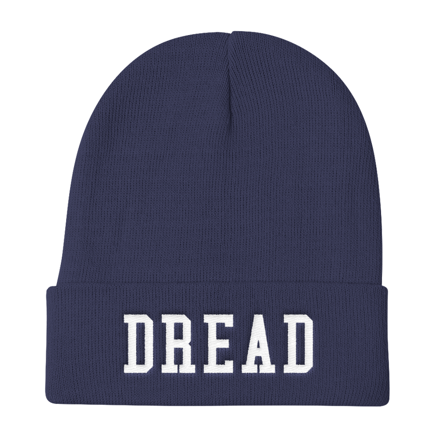 Image of Navy Blue Dread Beanie