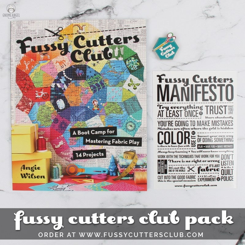 Image of Fussy Cutters Club Book Bundle