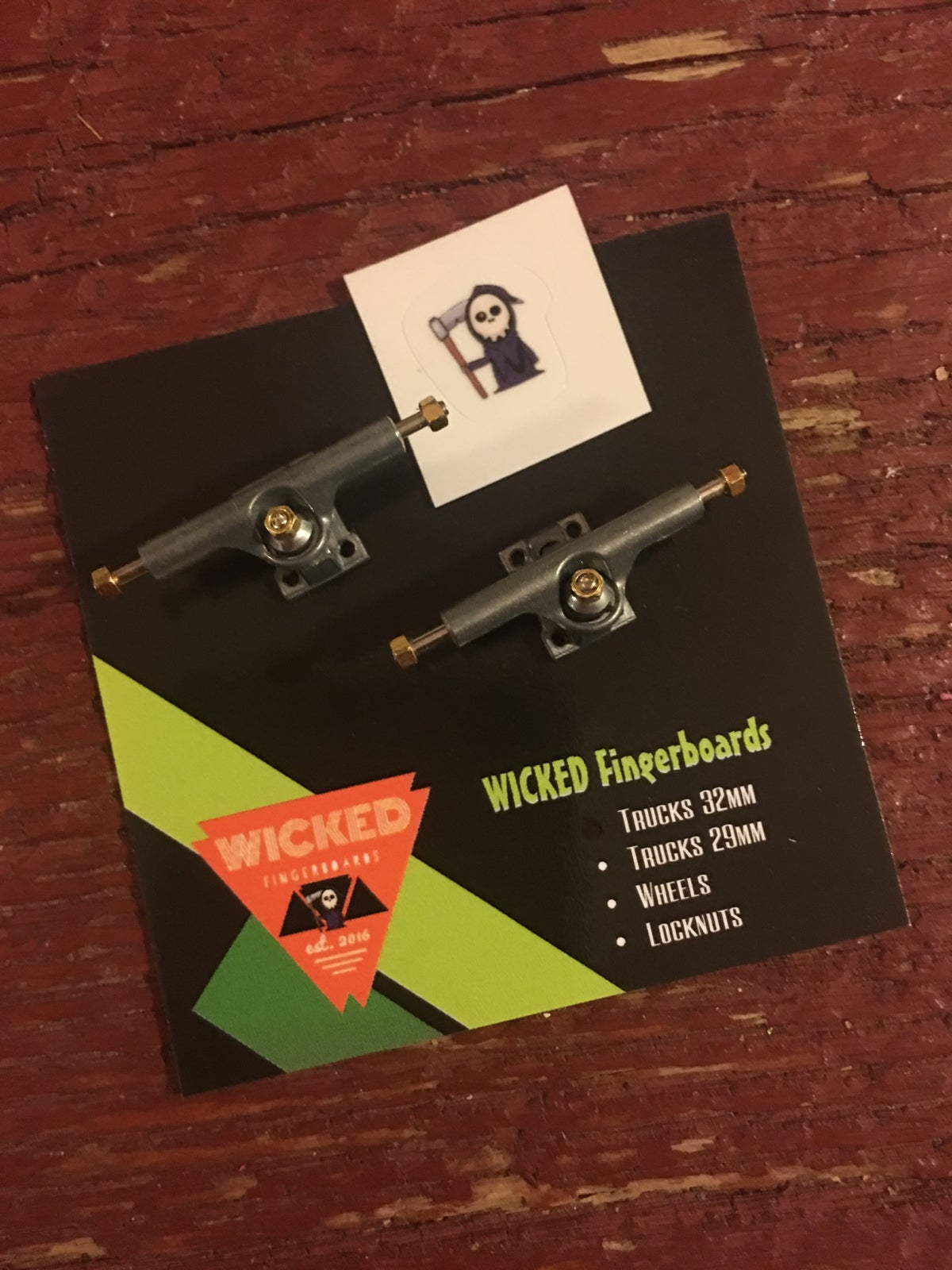 Wicked 32mm Trucks aka TDLBs!!!!!!!!!!