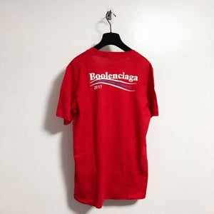 Image of Red Boolenciaga Tee
