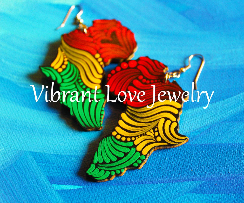 "Image of ""Africa"" Earrings!"