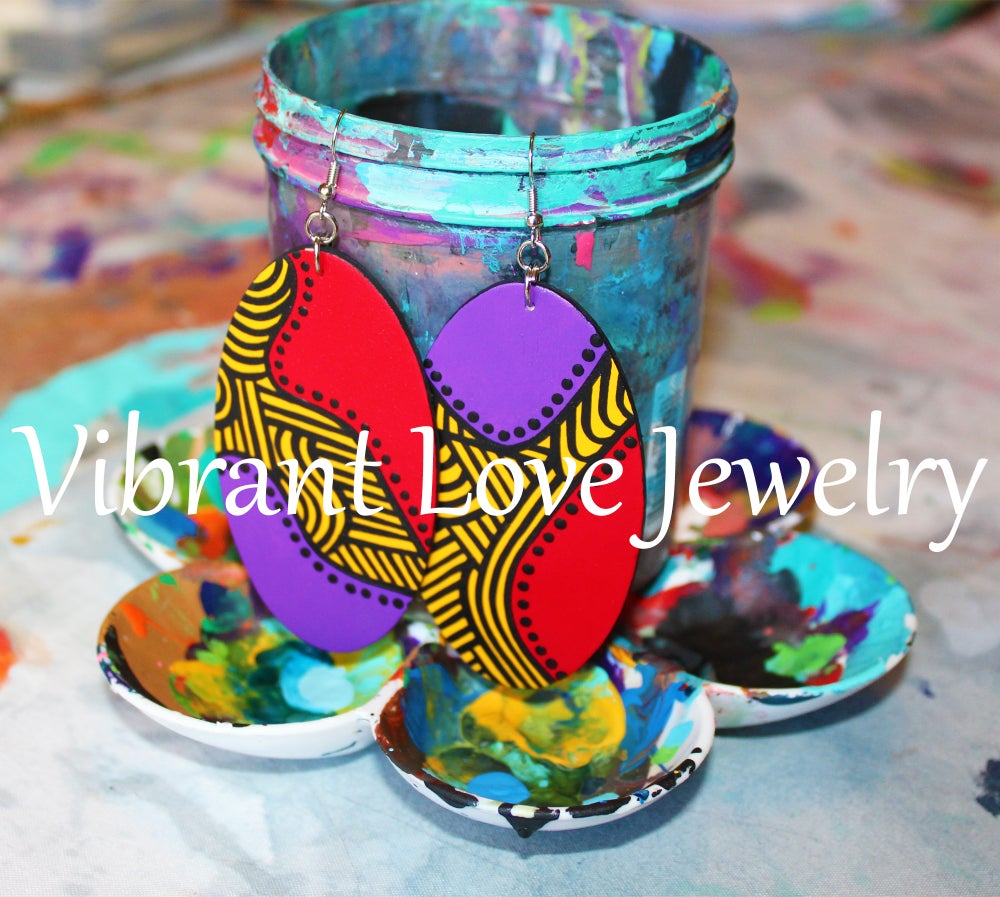 "Image of ""Winding Love"" Earrings!"