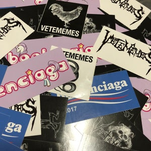 Image of VETEMEMES & BOOLENCIAGA STICKERS