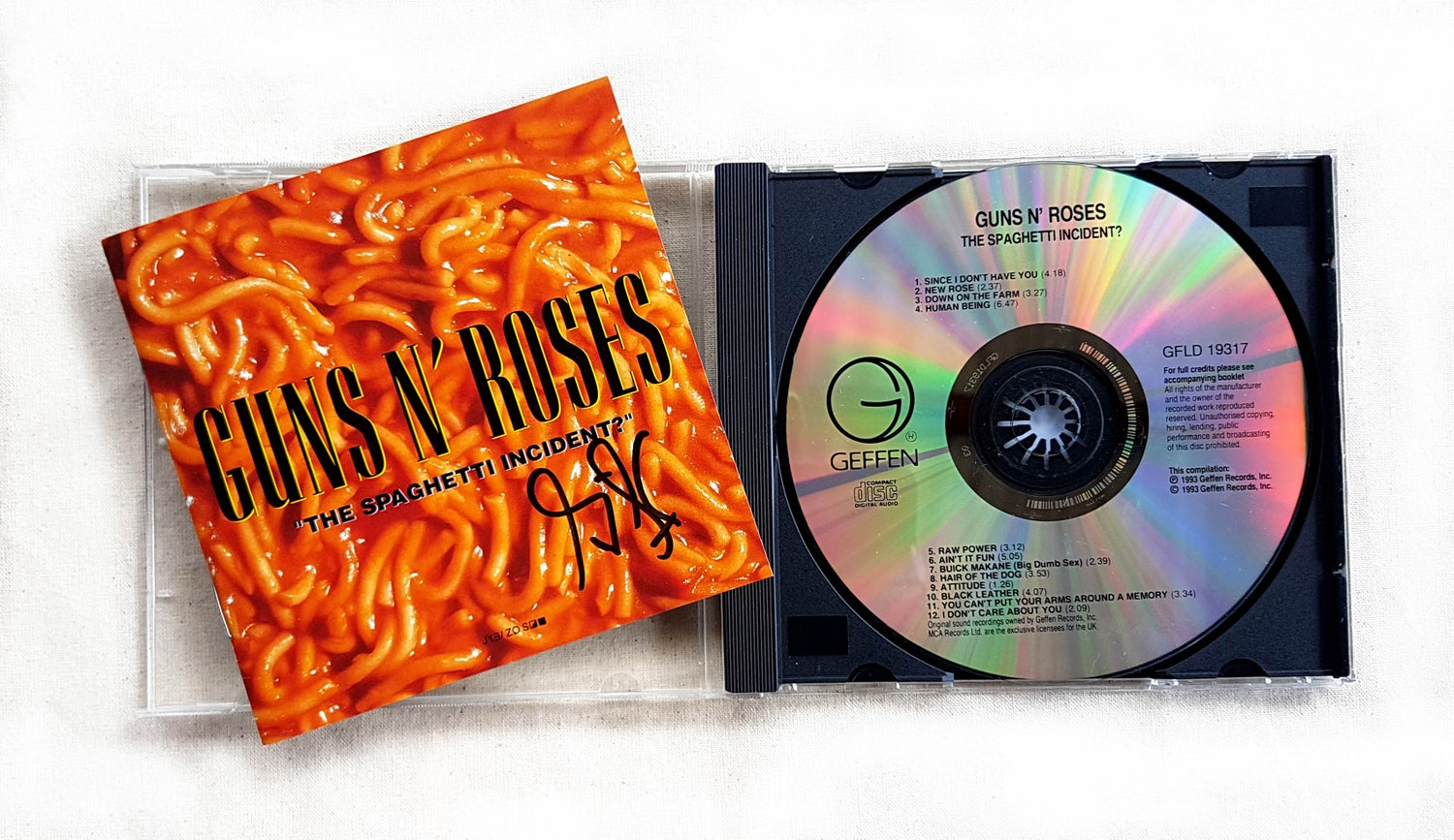 Image of CD (SIGNED) - Guns N' Roses 'The Spaghetti Incident'