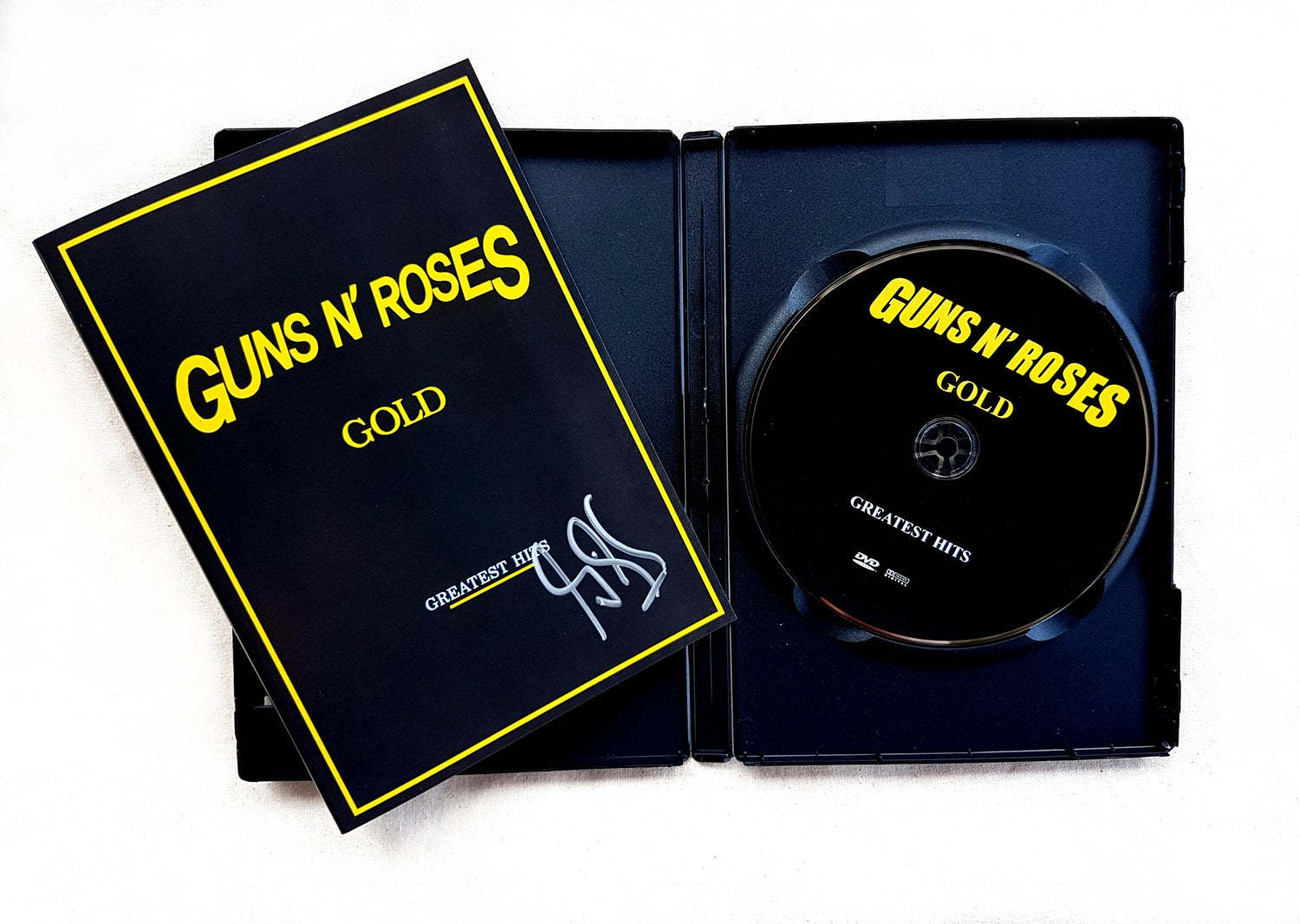Image of DVD (SIGNED) - Guns N' Roses 'GOLD: Greatest Hits'