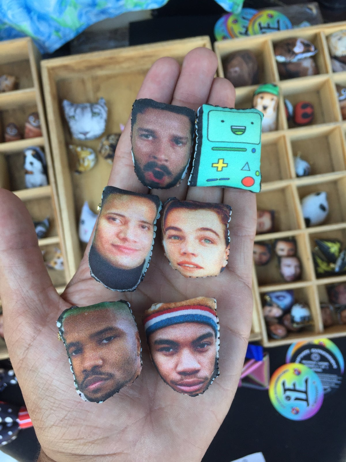 Image of Celebrity Pins