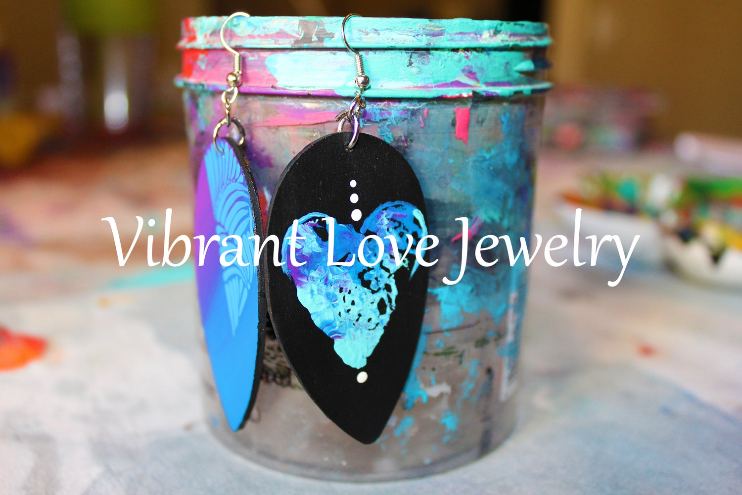 "Image of ""Dipped Love"" Earrings"