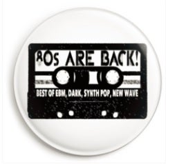 Image of 80s Are Back Pin - diametro 3,8 cm