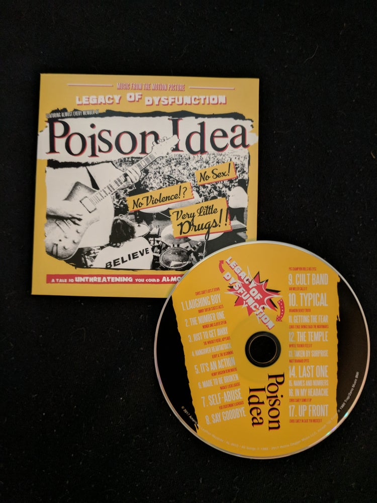 "Image of ""Legacy of Dysfunction"" CD"