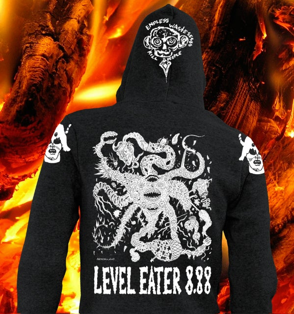 Image of Level Eater 8.88 Hoodie ( Pick Up Only! at Co-Prosperity Sphere )