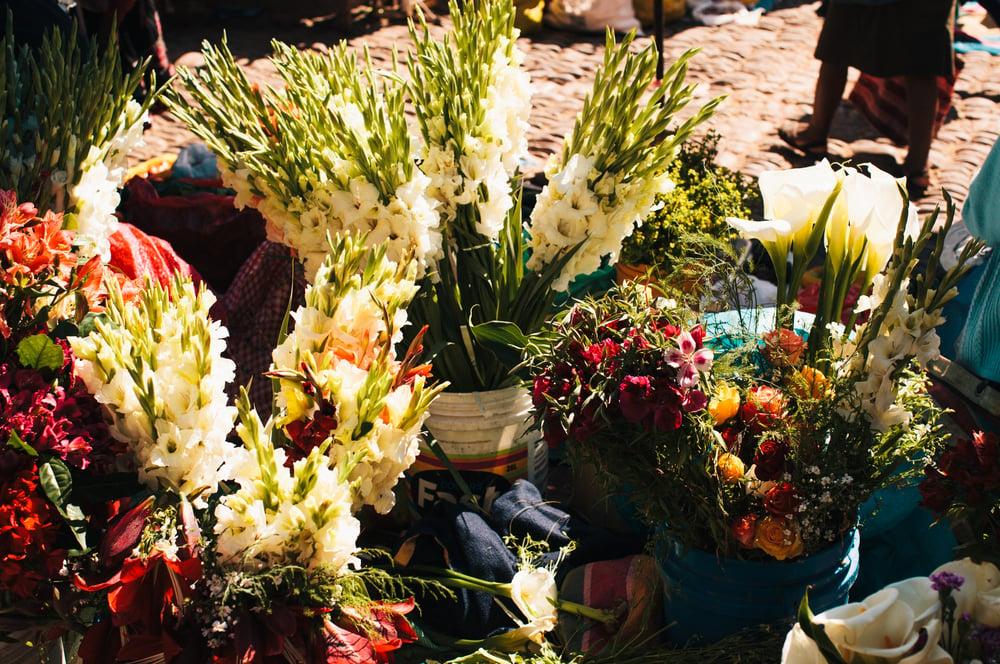 Image of Flower Market, Peru