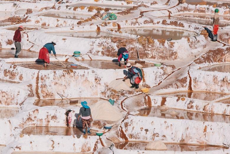 Image of Salt Workers, Peru