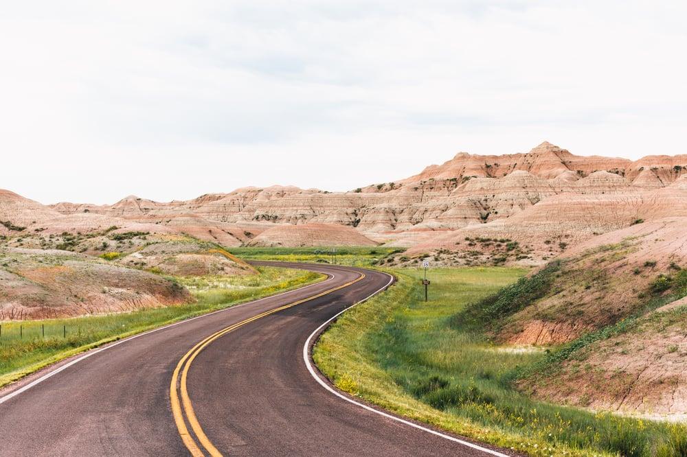 Image of Badlands Road