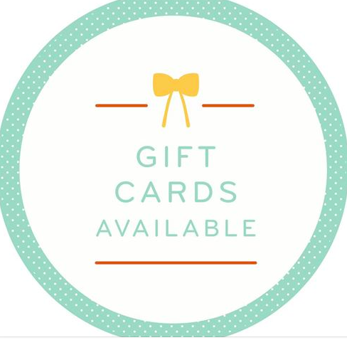 Image of GIFT CARDS (variety of amounts available)