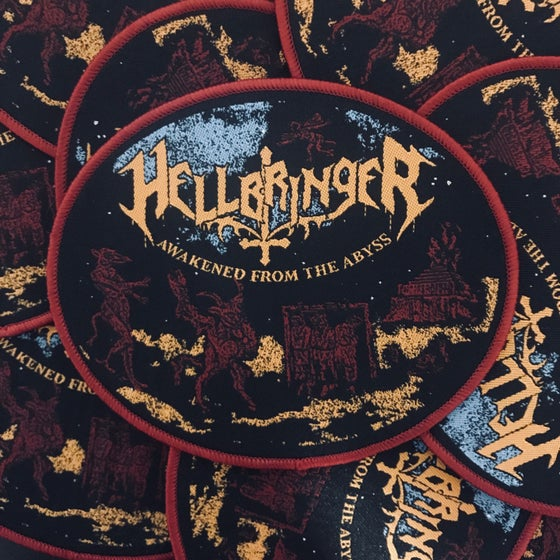 Image of Hellbringer Awakend From The Abyss Woven Patch