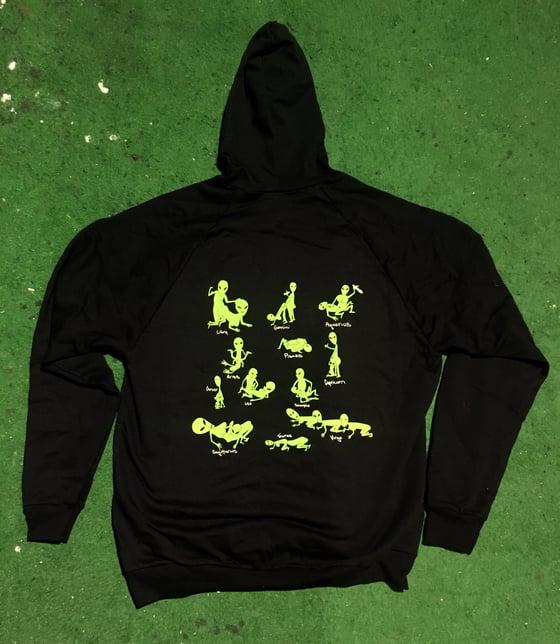 Image of Alien Kama Sutra hoodie
