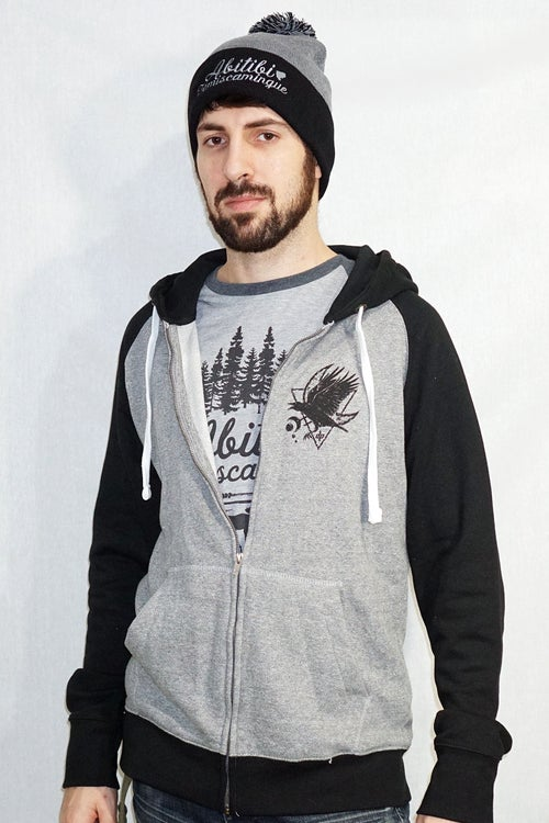 Image of Corbeau Zip-Up French Terry