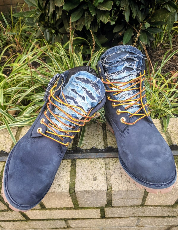Image of Custom Timberland Boots