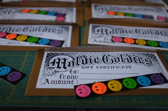 Image of Moldie Goldies Gift Certificate