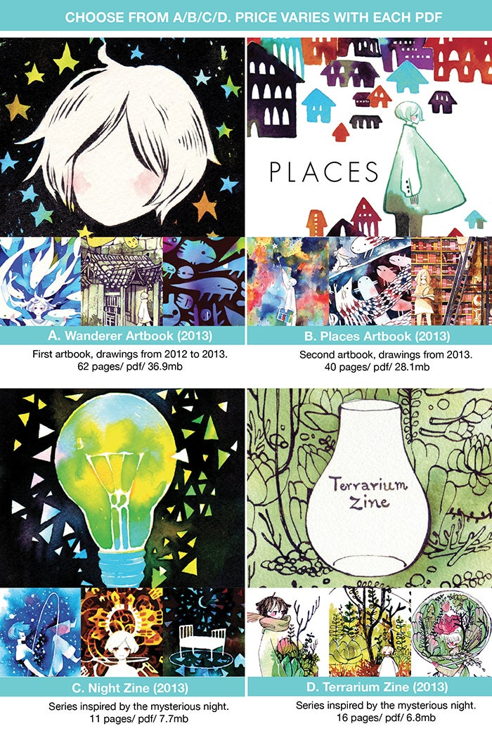 Image of 2013 Artbooks (Digital PDF)
