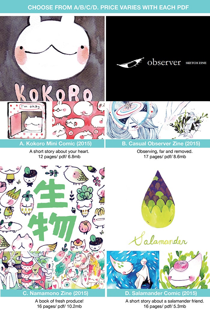 Image of 2015 Artbooks (Digital PDF)