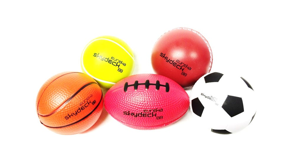 Image of Eureka Skydeck Stress Ball 5 Pack inc. postage*