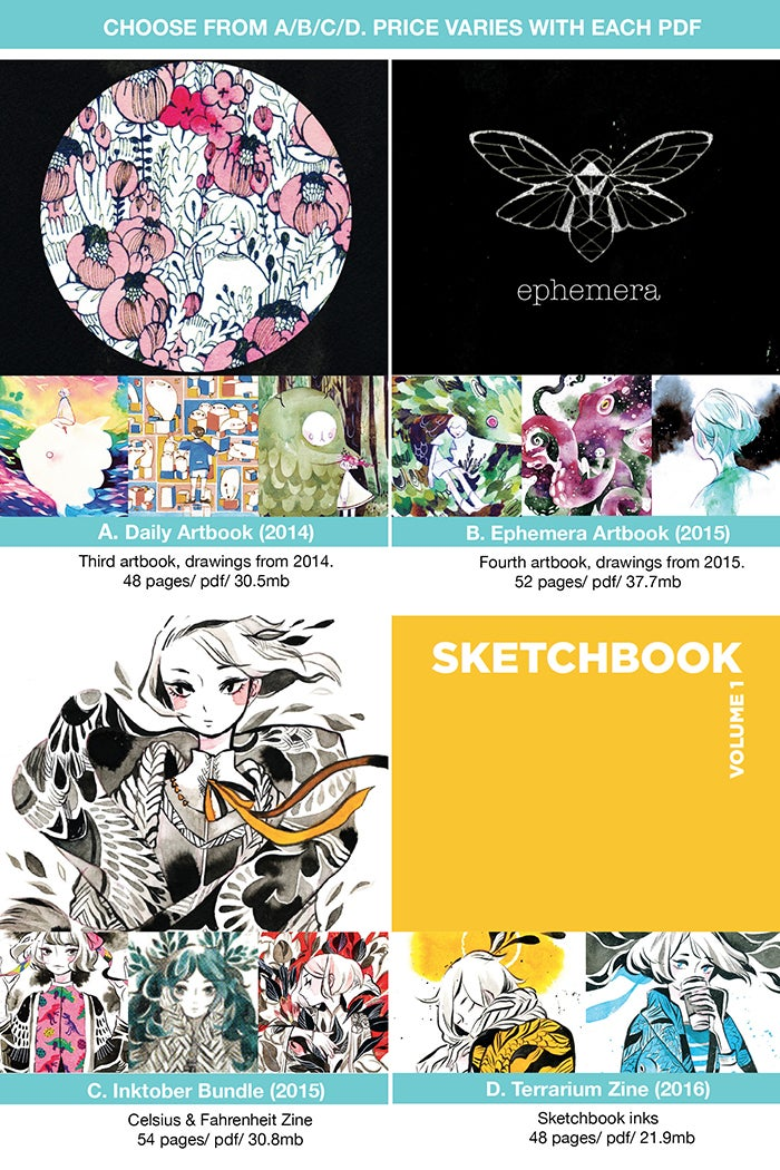 Image of 2014-2015 Artbooks (Digital PDF)