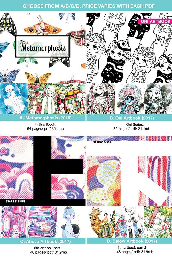 Image of 2016-2017 Artbook (Digital PDF)