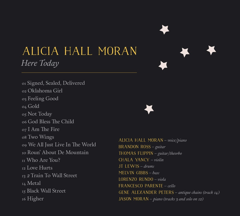 Image of Alicia Hall Moran - Here Today [CD]