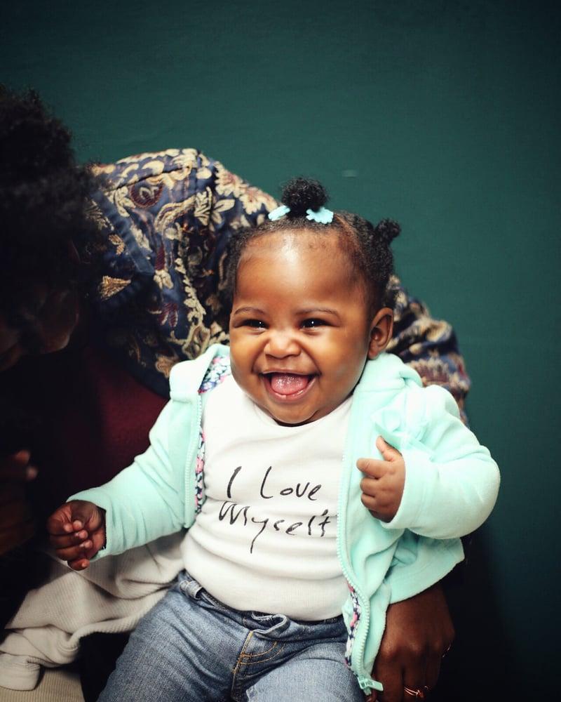 Image of Baby ILoveMyself onesies