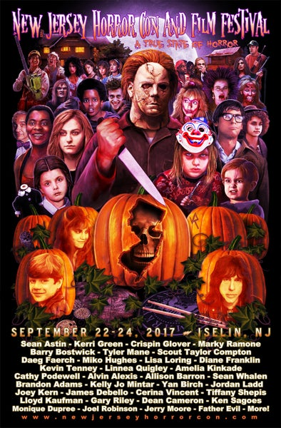 Image of 11x17 fall 2017 poster by Joel Robinson