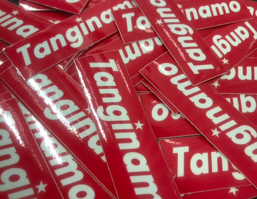 Image of TANGINAMO MINI BOX LOGO SLAPS 3pcs