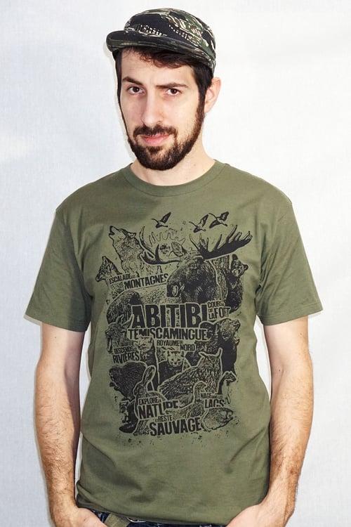 Image of Abitibi-Témiscamingue Animal / T-shirt Homme