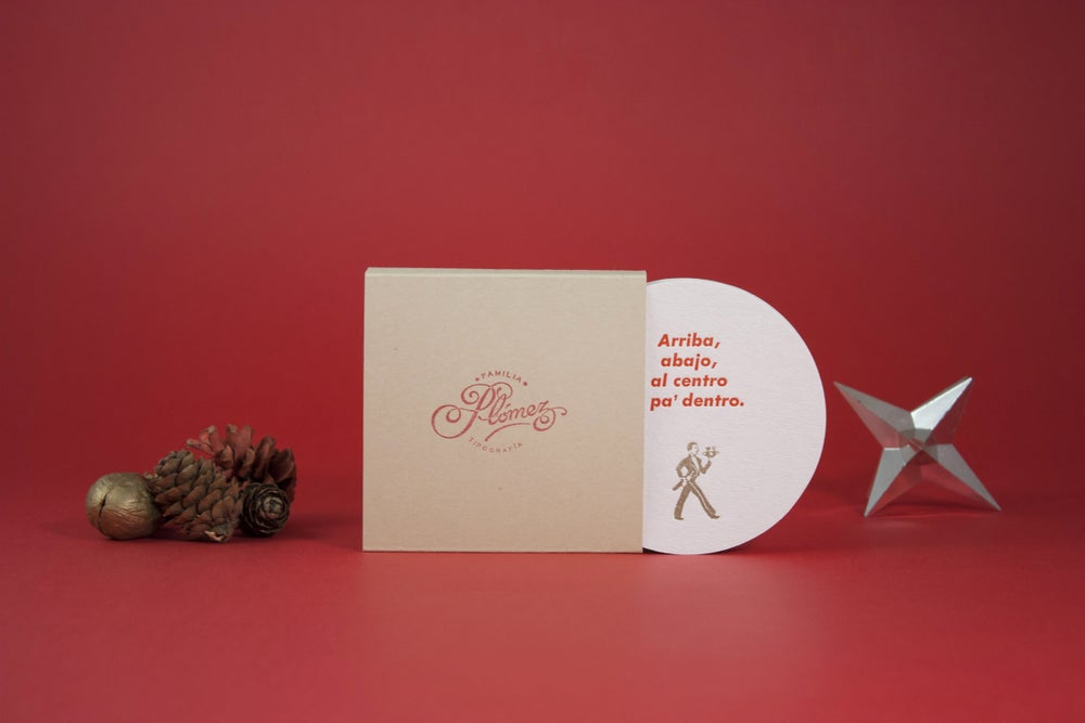 Image of Posavasos sin fronteras (Christmas edition)