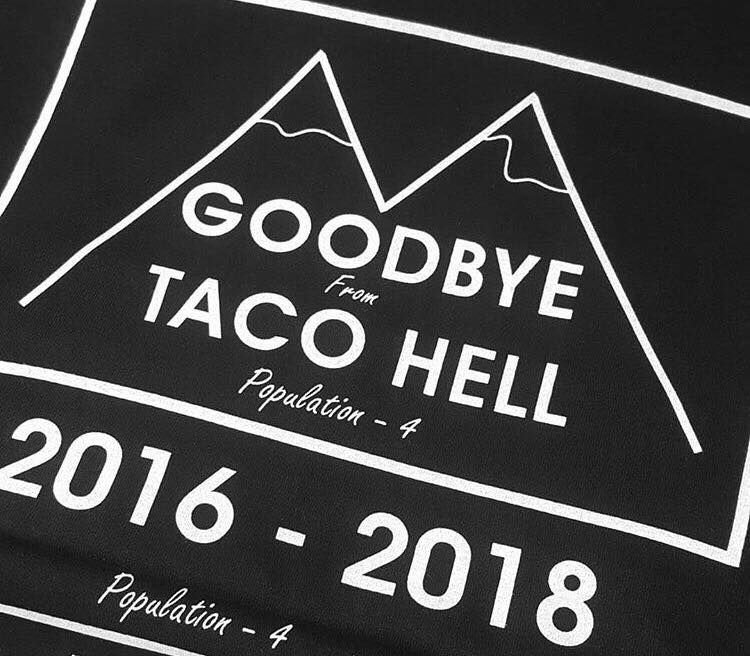 Image of Goodbye Taco Hell t-shirt