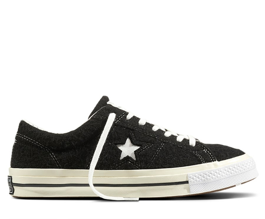 Image of CONVERSE X PATTA X DEVIATION ONE STAR BLACK WHITE 160078C