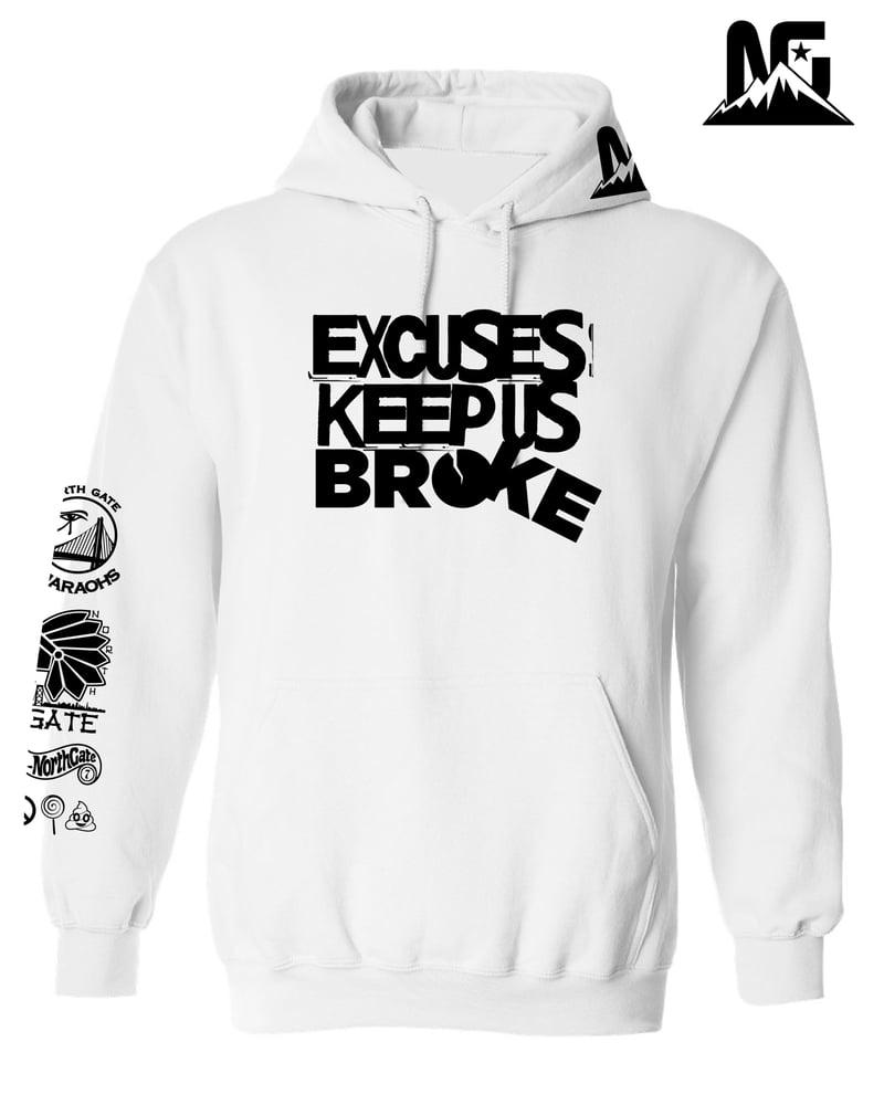 Image of ExcusesKeepUsBroke Snow Edition
