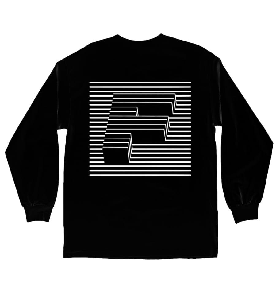 Image of F LINE Longsleeve - Black